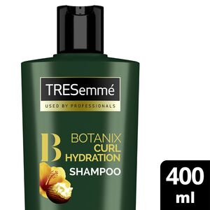 TRESemme Botanix Natural Shampoo for Curl Hydration with Shea Butter & Hibiscus 400ml