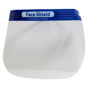 B Safe Splash Guard Face Shield 50167 1pc