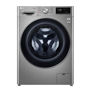 LG Front Load Washing Machine F4V5RYP2T 10KG, AI DD™, Steam+™, Bigger Capacity