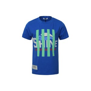 Eten Boys T-Shirt Round-Neck Short Sleeve BJL44 Blue 2-8Y