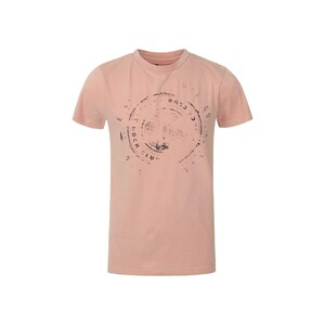 Cortigiani Boys T-Shirt Round-Neck Short Sleeve BFL09 Orange-Pink 10-16Y