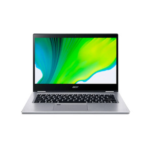 Acer 2in1 Notebook Spin 3 SP314-54N-38RV,Core i3-1005G1, 4GB RAM, 256GB SSD,Intel HD Graphics,Windows10 ,14inch FHD, Silver