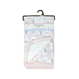 Eten Infant Fleece Blanket Pink 70x80cm