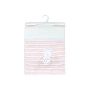 Cortigiani Infant Shawl Pink 100x100cm