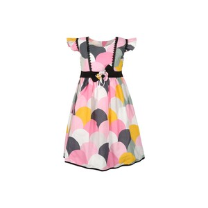 Debackers Girls Cotton Frock GJMY-20 Pnk 2-8Y