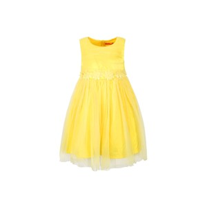 Cortigiani Girls Party Frock GJSM-01 Yellow 2-8Y