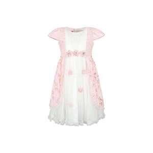 Cortigiani Girls Party Frock GJFI-100 Pink 2-8Y