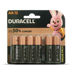 Duracell AA Battery 12pcs