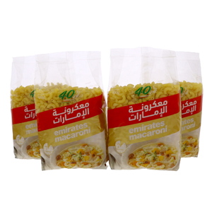 Emirates Macaroni Corni Medium 4 x 400g