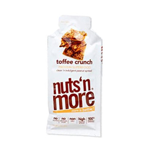 Nuts 'n More Toffee Crunch High Protein Peanut Butter Spread 34g