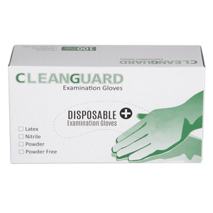 Cleanguard Latex Gloves Small 100pcs