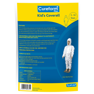 Lulu Cureform Plus Kid's Overall 5-10 Years 1pc