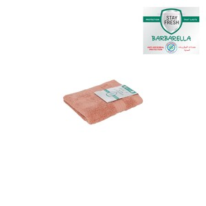 Barbarella Anti-Microbial Face Towel 33x33cm Pink