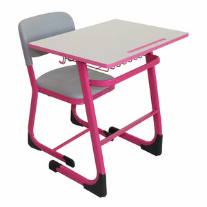 Maple Leaf Home Study Table + Chair D01 Table Size: L70 x W50 x H75cm Pink