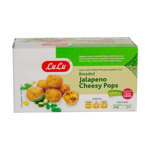 Lulu Frozen Jalapeno Cheesy Pops 240g