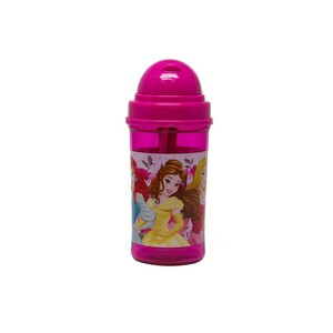 Disney Princess Water Bottle with Straw 19-0807