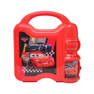 Cars Combo Set Lunch Box with Water Bottle 45-0802