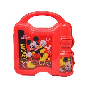 Mickey Mouse Combo Set Lunch Box with Water Bottle 45-0805