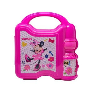 Minnie Mouse Combo Set Lunch Box with Water Bottle 45-0807
