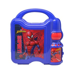Spider-Man Combo Set Lunch Box with Water Bottle 45-0808