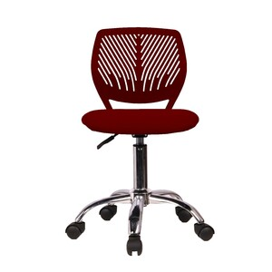Maple Leaf Study Chair AD-0242 Red
