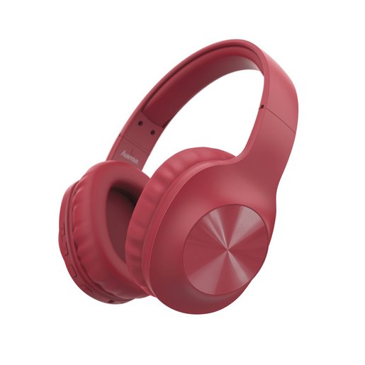 Hama Calypso Bluetooth headphones (184060), over-ear, microphone, bass booster, Red