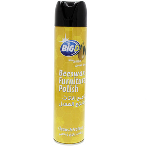 Big D Beeswax Furniture Polish Clean & Protect With Lemon 300ml