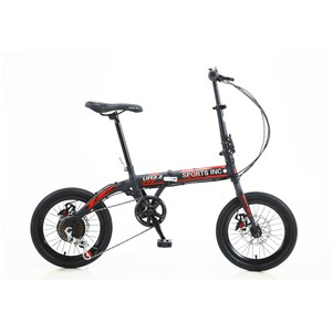"Sports Inc Foldable Bicycle 16"" FD101 Assorted Colors"