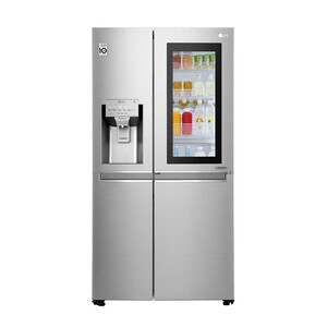 LG Instaview Door In Door Side by Side Refrigerator GR-X259CSBV 601LTR, , Hygiene FRESH+™, ThinQ