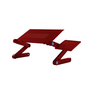 Maple Leaf LaptopTable Aluminum 804 Red