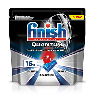 Finish Dishwashing Quantum Powerball 16pcs 200g