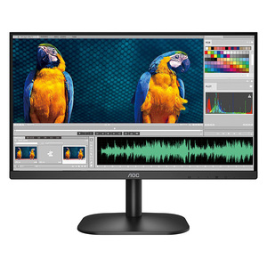 "AOC Monitor 24B2XH 23.8"" full HD, IPS Display with HDMI, VGA port & headphone out"
