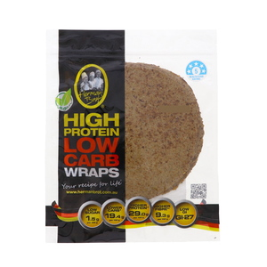 Herman Brot High Protein Low Carb Wraps 350g