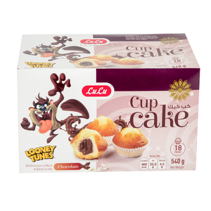 Lulu Cup Cake Chocolate 540g