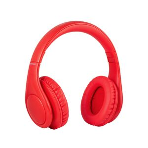 Promate Over Ear Wireless Headset Plush Red