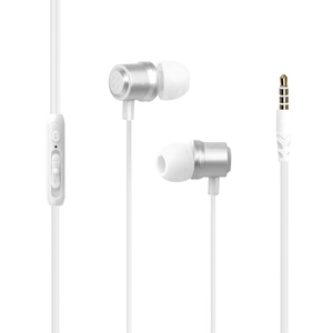 Promate In-Ear Stereo Wired Earphone Travi White