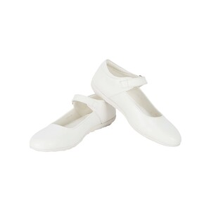 Lusso Bellini Girls School Shoes 36-41 1502 White