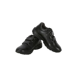 Lusso Bellini Boys Sports School Shoe-VC 26-35 1406 Black