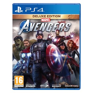 Pre Order Marvel's Avengers: Deluxe Edition For PS4
