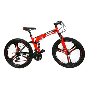 "Limit Folding Bicycle 26"" BNZ X885 Assorted Color"