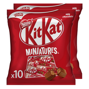 Kit Kat Miniatures Milk Chocolate 2 x 110g