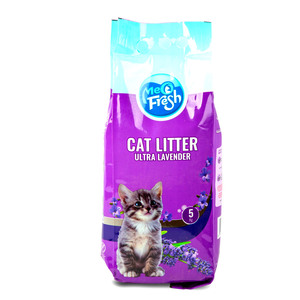 Meo Fresh Cat Litter Ultra Lavender 5kg