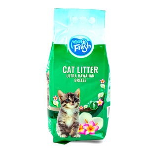 Meo Fresh Cat Litter Ultra Hawaiian Breeze 5kg