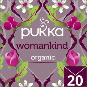 Pukka Organic Herbal Tea Womankind with Cranberry Rose & Exotic Vanilla 20pcs
