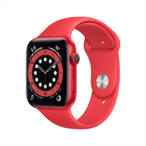 Apple Watch Series 6 GPS M00A3AE/A 40mm (PRODUCT)RED Aluminum Case with Sport Band PRODUCT(RED)
