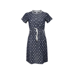 Eten Teenage Denim Dress 3/4 Dark Blue