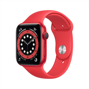 Apple Watch Series 6 GPS + Cellular M06R3AE/A 40mm PRODUCT(RED) Aluminium Case with Sport Band PRODUCT(RED)