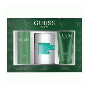 Guess Green EDT for Men 75ml + Shower Gel 200ml + Body Spray 226ml