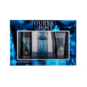 Guess Night EDT for Men 100ml + Shower Gel 200ml + Body Spray 226ml