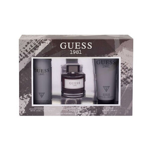 Guess 1981 EDT for Men 100ml + Shower Gel 200ml + Body Spray 226ml